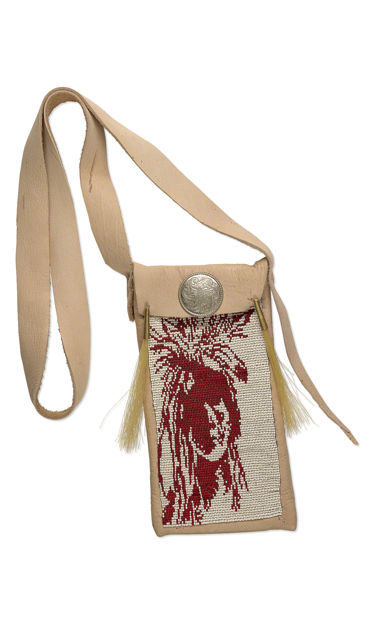 Jewelry Design Native American Bag With Seed Beads And