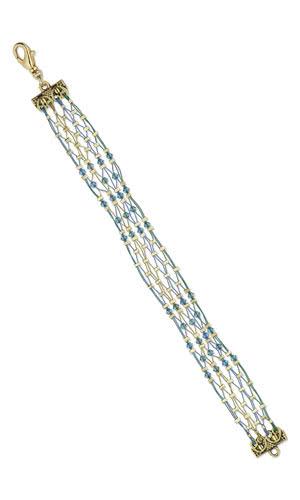 jewelry design bracelet with swarovski and accu