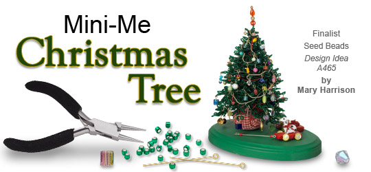 Jewelry Making Article - Mini-Me Christmas Tree - Fire Mountain ...