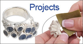 precious metal clay projects