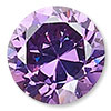 Amethyst Purple Cubic Zirconia Gemstone Beads and Components
