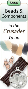 Shop Findings and Components in the Crusader Trend