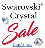 Swarovski Bicone and Fancy Stone Sale