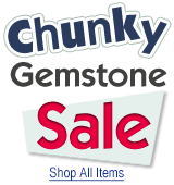 Chunky Gemstone Sale