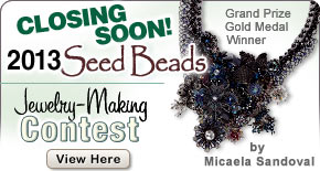 Enter the Fire Mountain Gems and Beads Jewelry-Making Contest