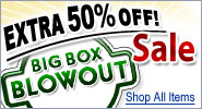 Additional 50% Off Select Big Box