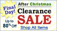 After Christmas Clearance Sale