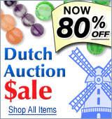 Dutch Auction Sale - Now 80% Off