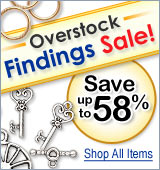 Overstock Findings Sale