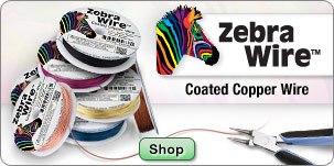 Zebra Wire - Coated Copper Wire
