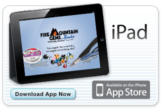 Fire Mountain Gems and Beads Catalog app for Apple iPad