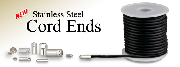 New Stainless Steel Cord Ends