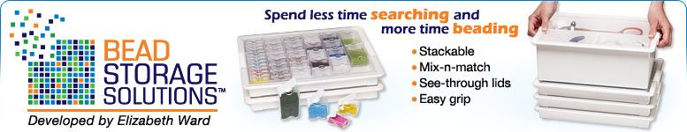 Shop Bead Storage Supplies by Elizabeth Ward