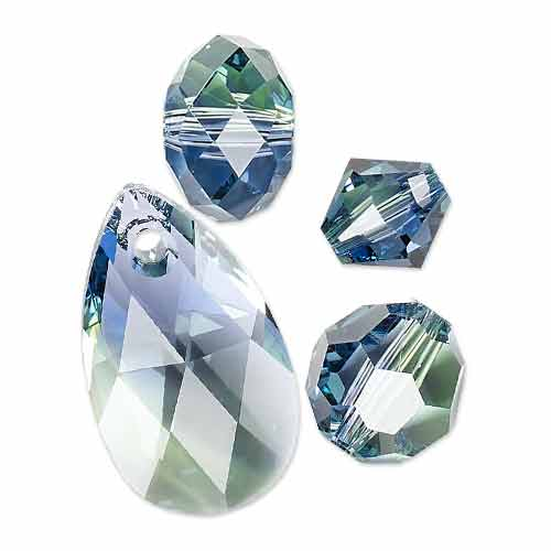 New SWAROVSKI ELEMENTS Color for Fall-Winter 2014-15 - Provence Lavender - Chrysolite Blend
