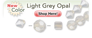 NEW Swarovski® Color - Light Grey Opal: Shop Now