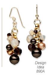 design idea 890a earrings - Earring Design Ideas