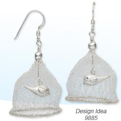 Design Idea 9885 Earrings