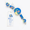 Bead, Blue Moon Beads®, polymer clay, round tube and flat round with assorted sea design. Pkg/5.
