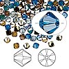 Bead, Swarovski crystal, Crystal Passions®, Lakeshore, 4mm Xilion bicone (5328). Sold per pkg of 144 (1 gross).