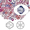 Bead, Swarovski crystal, Crystal Passions®, Love Struck, 4mm Xilion bicone (5328). Sold per pkg of 48.