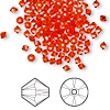 Bead, Swarovski crystal, Crystal Passions®, hyacinth, 3mm Xilion bicone (5328). Sold per pkg of 48.