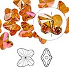 Bead, Swarovski crystal, crystal astral pink, 10x9mm faceted butterfly (5754). Sold per pkg of 288 (2 gross).