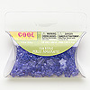 Bead, Westrim®, acrylic, transparent purple, 10x10mm flat star. Sold per 1.13 ounces, approximately 160 beads.