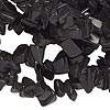 Bead, blackstone (dyed), medium chip, Mohs hardness 6-1/2 to 7. Sold per 34-inch strand.