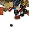 Bead mix, gemstone (natural / dyed / heated), mixed sizes and shape, B- grade. Sold per pkg of 2 ounces.