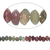 Bead, multi-tourmaline (natural), 4x2mm-6x5mm hand-cut saucer, D grade, Mohs hardness 7. Sold per 14-inch strand.
