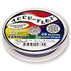 Beading wire, Accu-Flex®, lavender, 49 strand, 0.014-inch diameter. Sold per 30-foot spool.