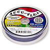Beading wire, Accu-Flex®, nylon and stainless steel, lavender, 49 strand, 0.019-inch diameter. Sold per 100-foot spool.