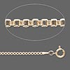 Chain, 12Kt gold-filled, 1.4mm Venetian box, 18 inch. Sold individually.
