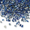 Embellishment, lapis lazuli (natural), undrilled mini chip. Sold per 50-gram pkg.