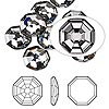 Flat back, Swarovski crystal rhinestone, Crystal Passions®, crystal silver night, foil back, 10mm solaris (2611). Sold per pkg of 2.