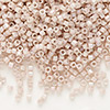 Seed bead, Delica®, glass, opaque rainbow mocha, (DB1505), #11 round. Sold per pkg of 50 grams.