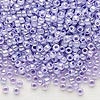 Seed bead, Dyna-Mites™, glass, ceylon pastel lilac, #8 round. Sold per 40-gram pkg.
