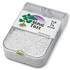 Seed bead, Ming Tree™, glass, opaque luster white, #11 round. Sold per pkg of 1/4 pound.