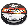 Thread, Berkley® FireLine®, gel-spun polyethylene, crystal, 0.10mm diameter, 3-pound test. Sold per 50-yard spool.