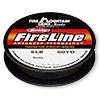 Thread, Berkley® FireLine®, gel-spun polyethylene, smoke, 0.15mm diameter, 6-pound test. Sold per 50-yard spool.