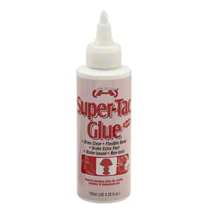 adhesive, helmar, super-tac. sold per 4.23 fluid ounce bottle.