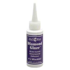 adhesive, judi kins diamond glaze™. sold per 2-fluid ounce bottle.