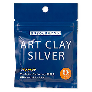 art clay silver, low fire, slow dry formula. sold per 50-gram pkg.