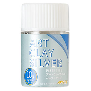 art clay silver paste, low fire. sold per 10-gram bottle.