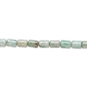 bead, african jade (natural), 6x4mm capsule, b grade, mohs hardness 7. sold per 16-inch strand.