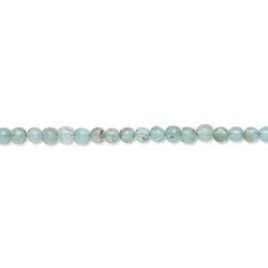 bead, apatite (natural), 2-3mm hand-cut round, c grade, mohs hardness 5. sold per 13-inch strand.