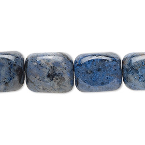 bead, dumortierite (natural), medium tumbled nugget, mohs hardness 7. sold per 16-inch strand.