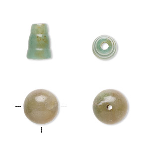 bead, fancy jasper (natural), 10mm t-drilled 10mm round and 10mm bead end, b grade, mohs hardness 6-1/2 to 7. sold per pkg of 2 sets.