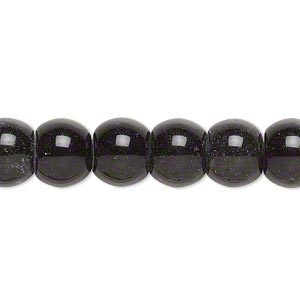 bead, golden sheen obsidian (natural), 10x8mm drum, c- grade, mohs hardness 5 to 5-1/2. sold per 15-inch strand.