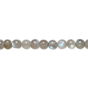 bead, labradorite (natural), small hand-cut pebble, mohs hardness 6 to 6-1/2. sold per 14-inch strand.